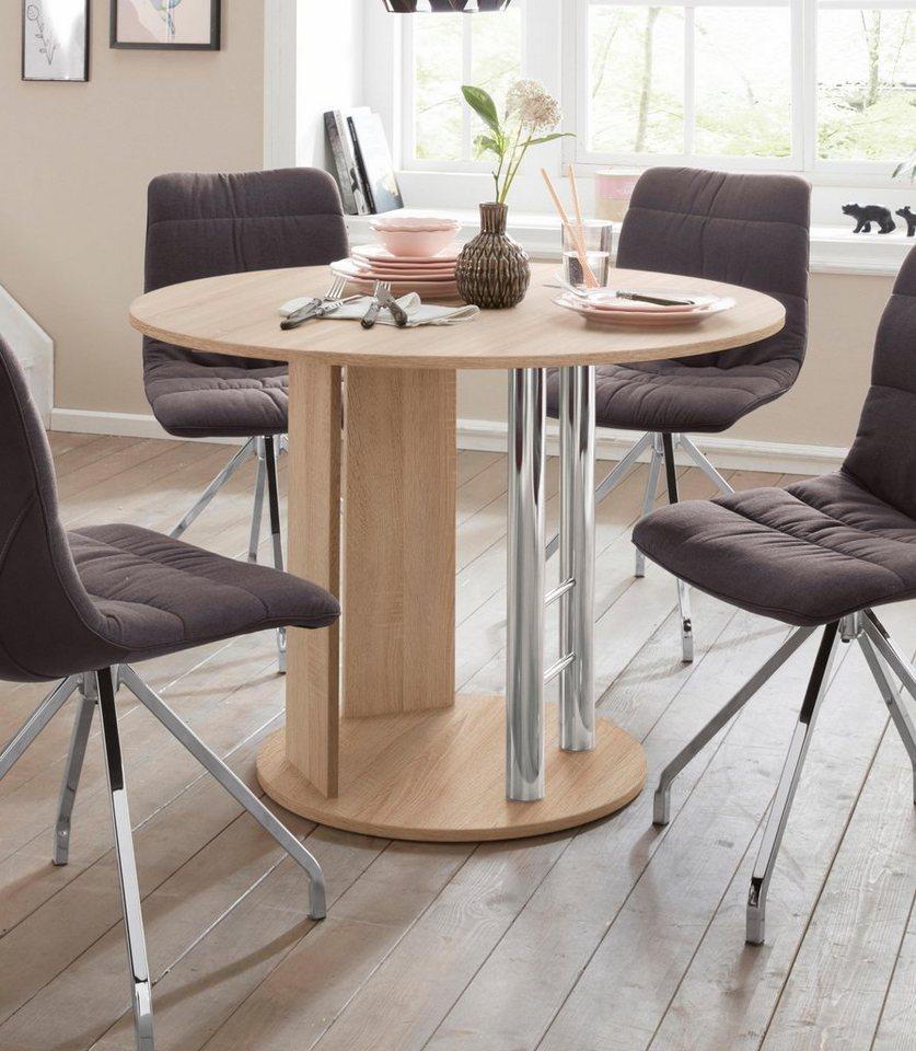 s ulen esstisch rondell breite 105 145 cm otto. Black Bedroom Furniture Sets. Home Design Ideas