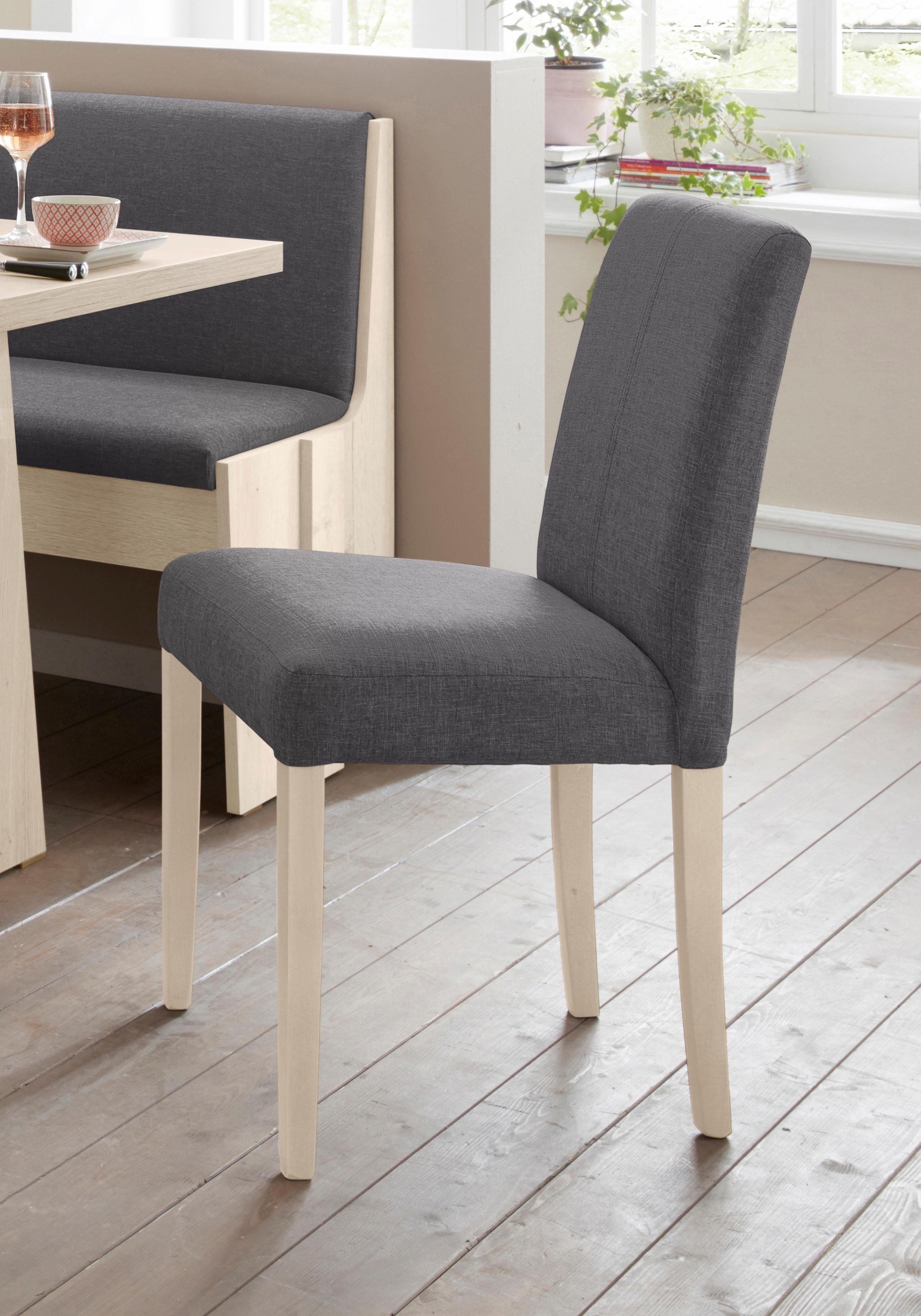 Polsterstuhl »Hanau« (2 Stück)   Küche und Esszimmer > Stühle und Hocker > Polsterstühle   Holz