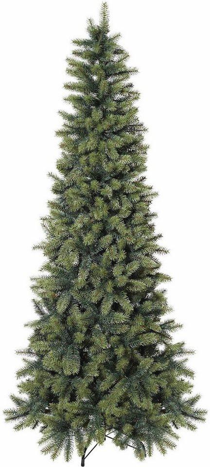 k nstlicher weihnachtsbaum in schlanker form otto. Black Bedroom Furniture Sets. Home Design Ideas