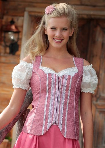 Spieth & Wensky Celebration Mood Costume Corset With Loop-back Part In