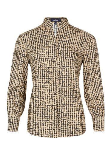 Daniel Hechter Trendige Bluse mit grafischem Muster