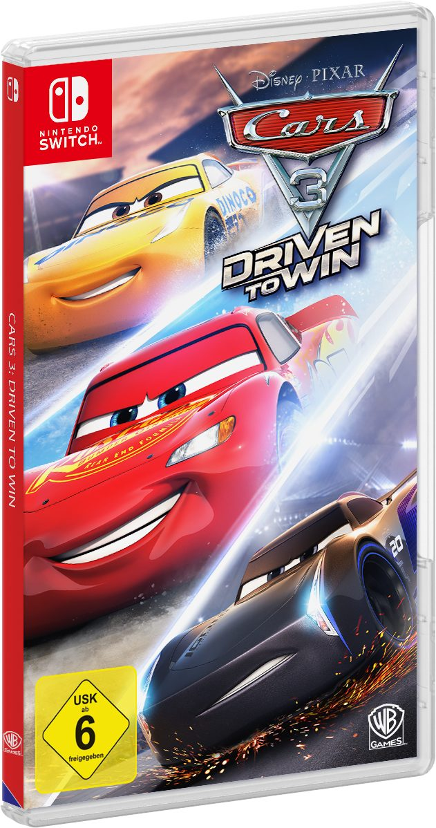 Warner Games Cars 3: Driven to Win »Nintendo Switch«