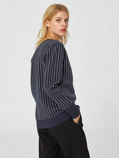 Selected Femme Viskose- Strickpullover