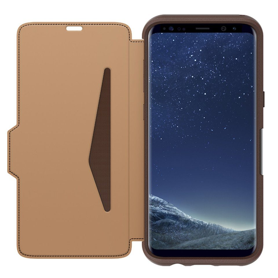 OtterBox Cover »Otterbox Strada Galaxy S8+ Burnt Saddle Braun«