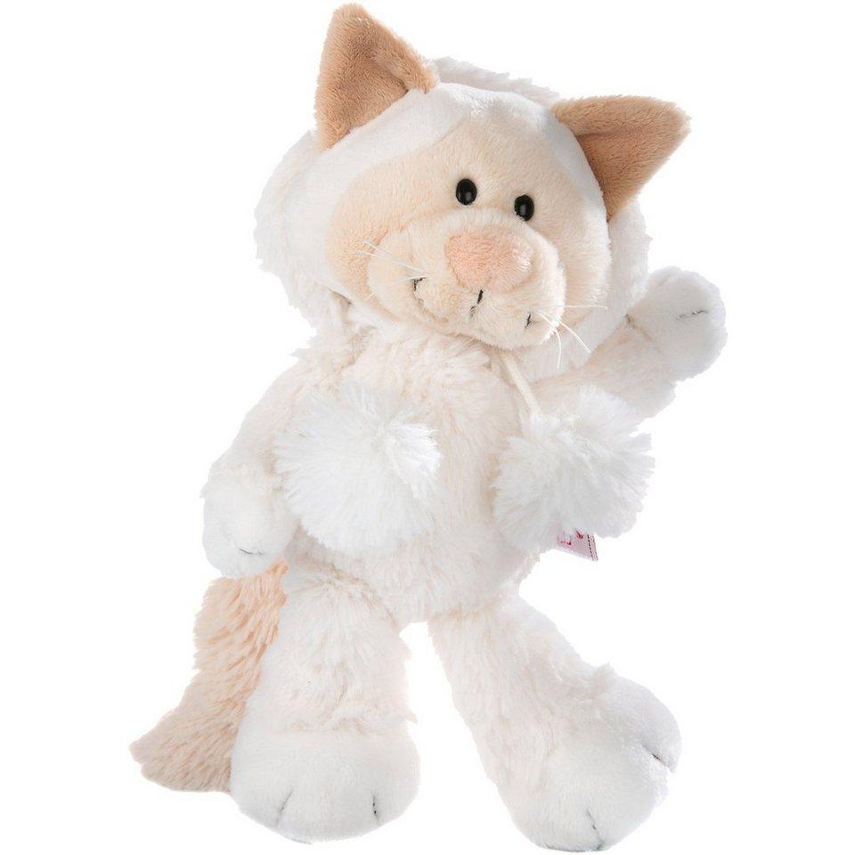 Schneekatze Mädchen Schlenker, 25 cm (40907)