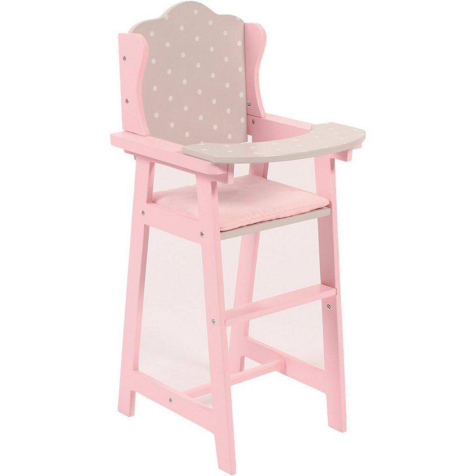 chic 2000 puppen hochstuhl holz puntos grey kaufen otto. Black Bedroom Furniture Sets. Home Design Ideas
