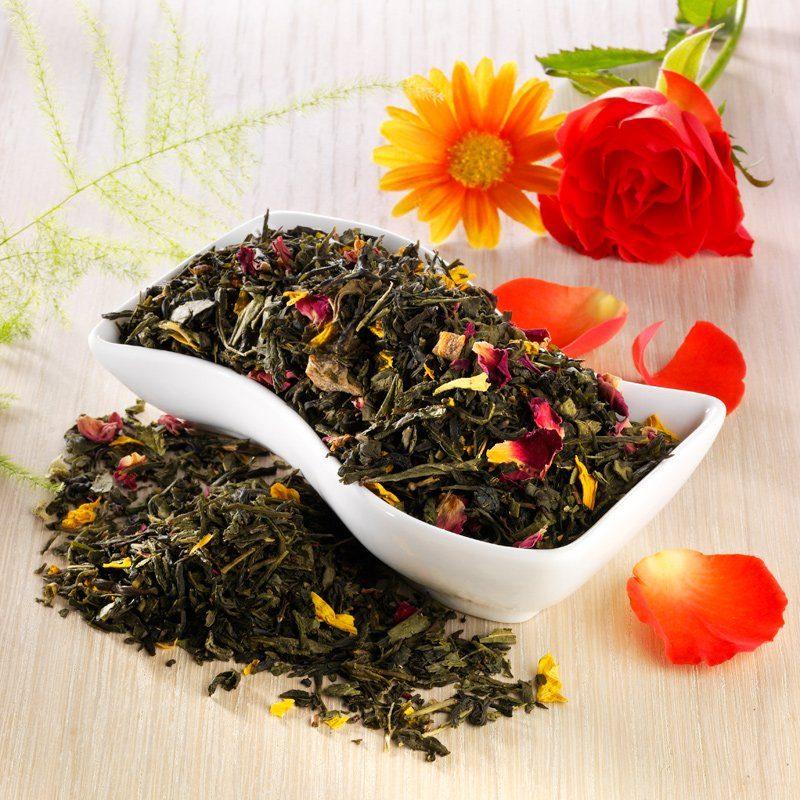 Rauf Tee Rauf Tee aromatisierter grüner Tee Madame Butterfl