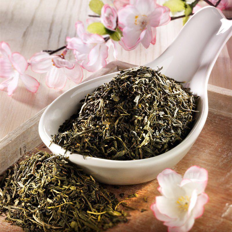 Rauf Tee Rauf Tee aromatisierter grüner Tee Japan Kirschblü