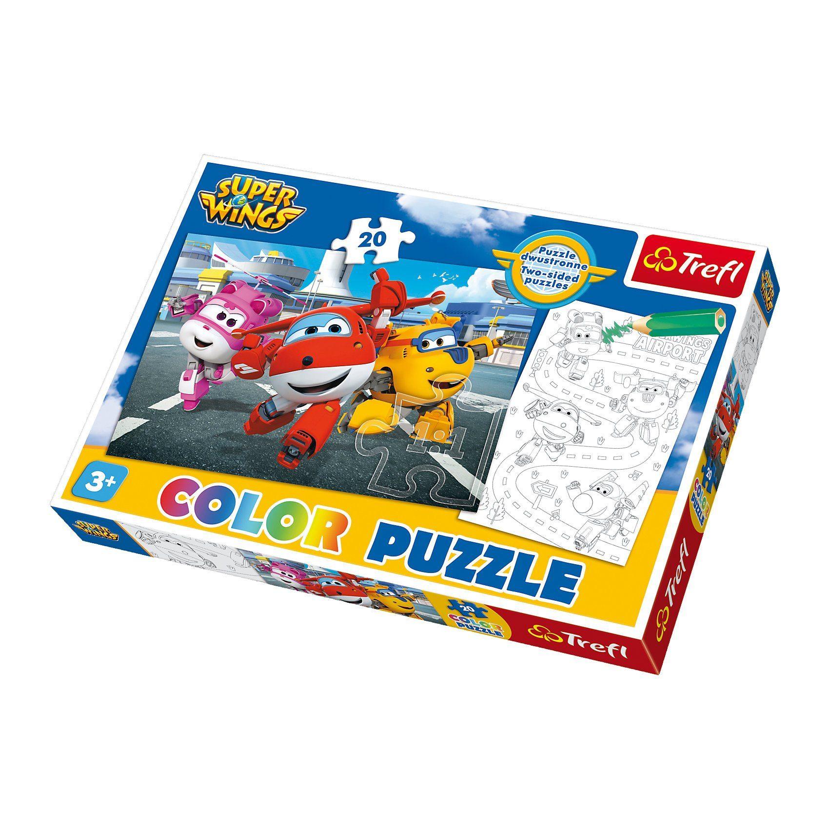 Trefl Color Puzzle 20 Teile - Super Wings