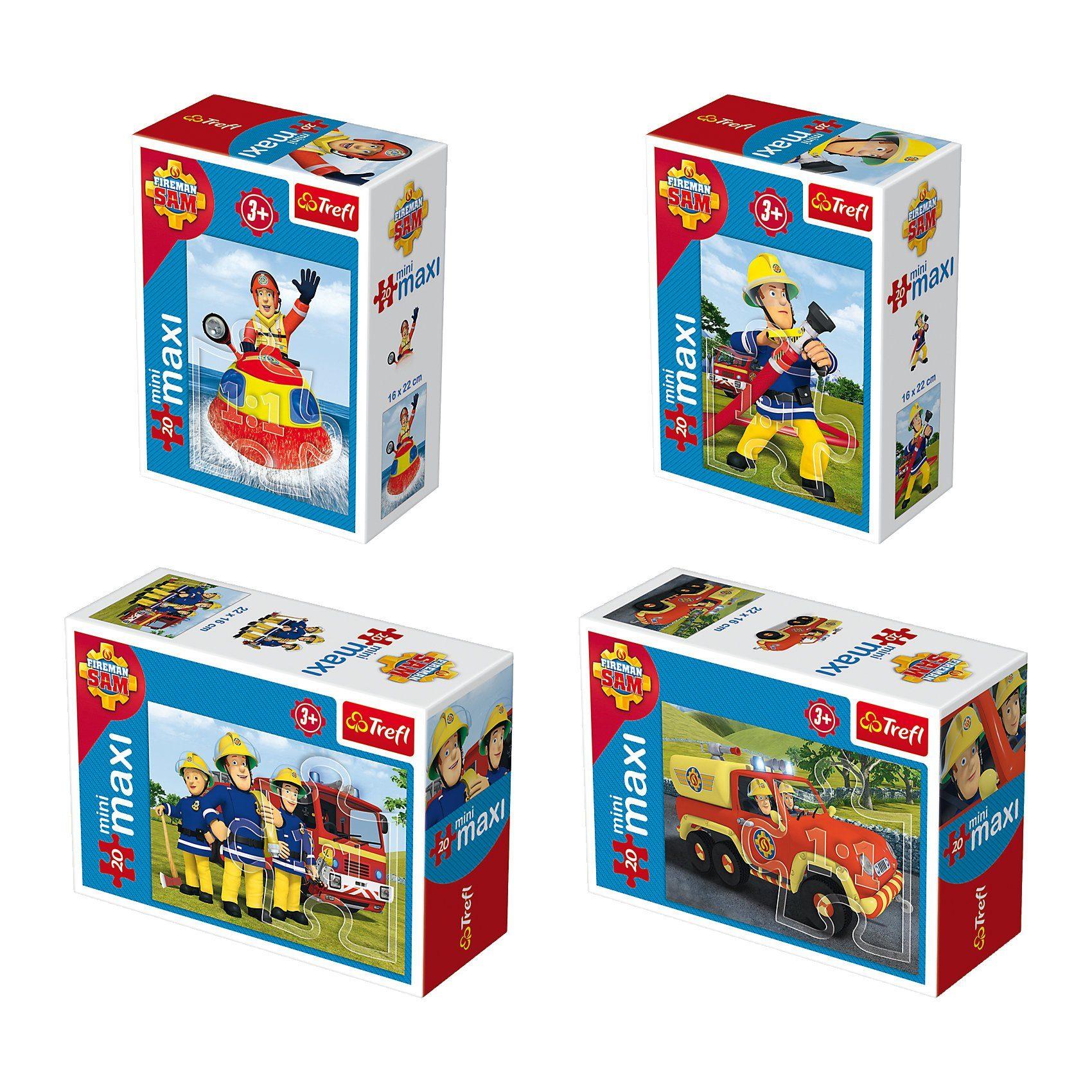 Trefl Mini Maxi Puzzle 20 Teile - Feuerwehrmann Sam