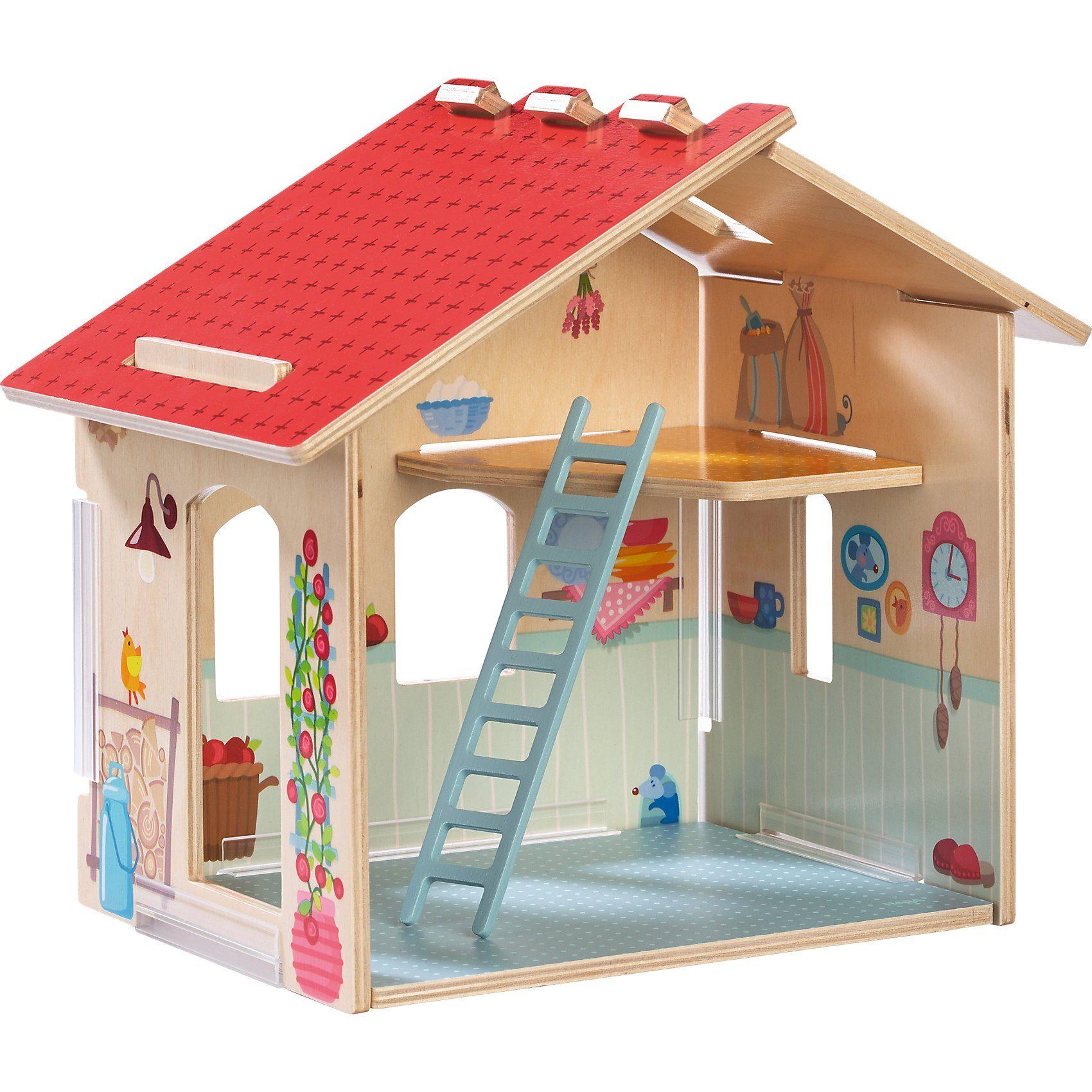 Haba 303003 Little Friends Bauernhof Bauernhaus