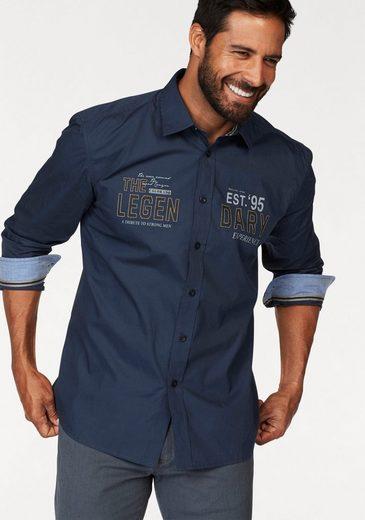 Man's World Langarmhemd