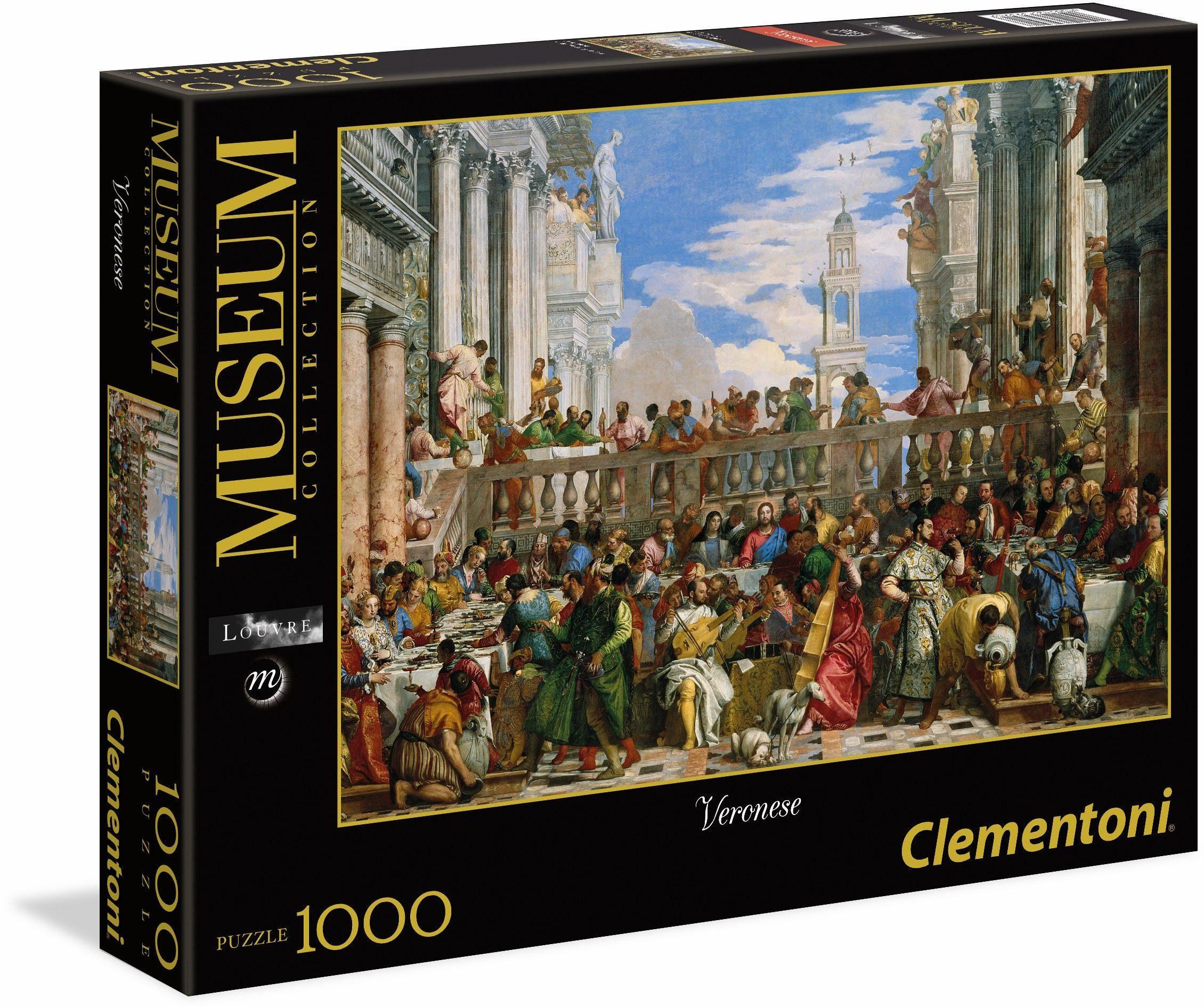 Clementoni Puzzle, 1000 Teile, »Hochzeit zu Kana«