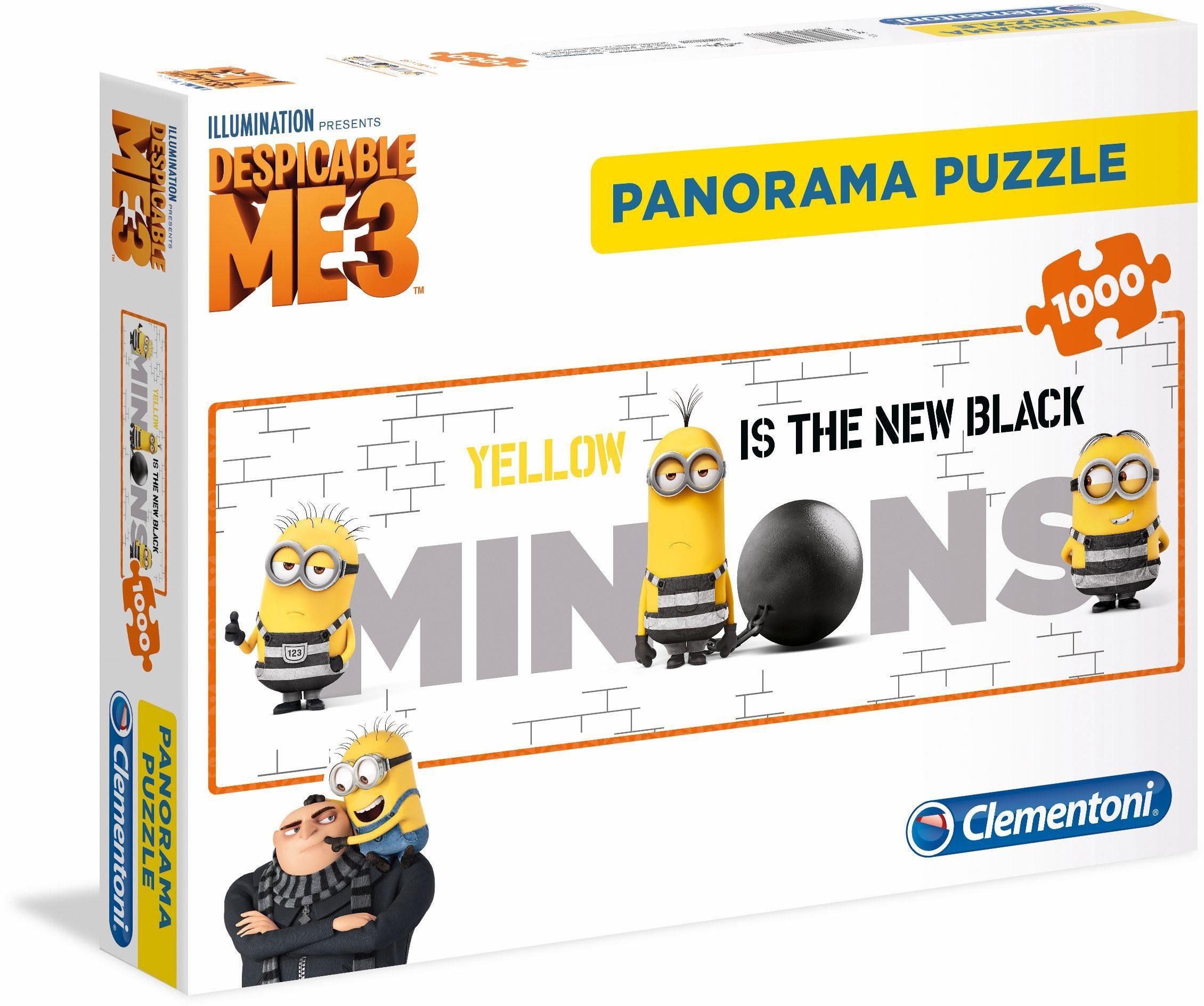 Clementoni Panoramapuzzle, 1000 Teile, »Minions«