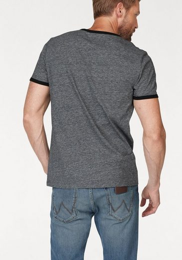 Wrangler T-Shirt LOGO TEE, mit Logoprint