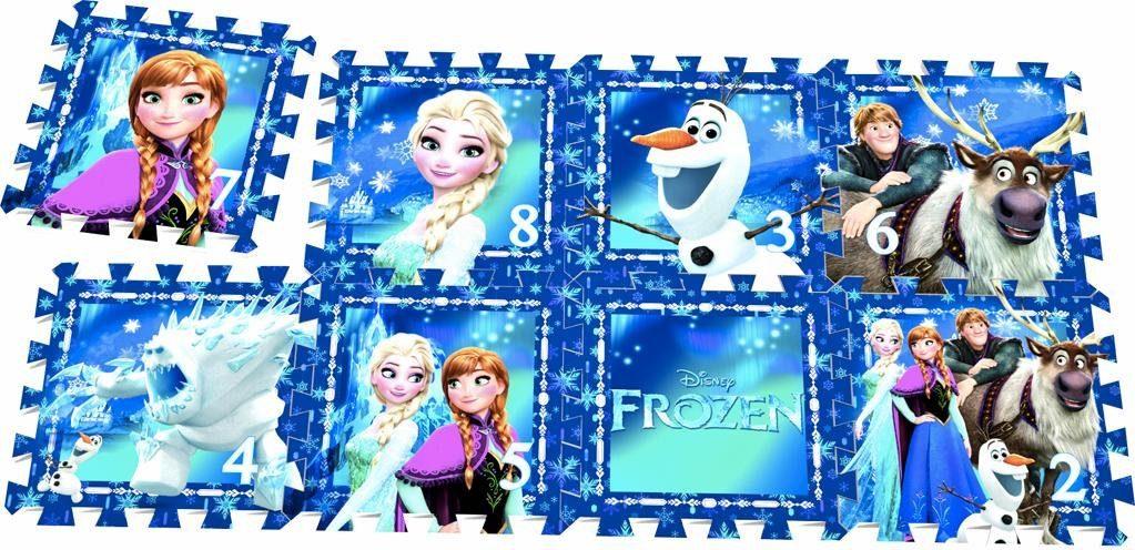 knorr toys Puzzlematte, 8-teilig, »Disney Frozen«