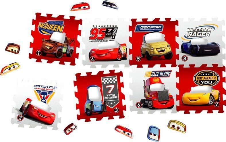 Knorrtoys® Puzzle »Disney/Pixar Cars«, 16 Teilig