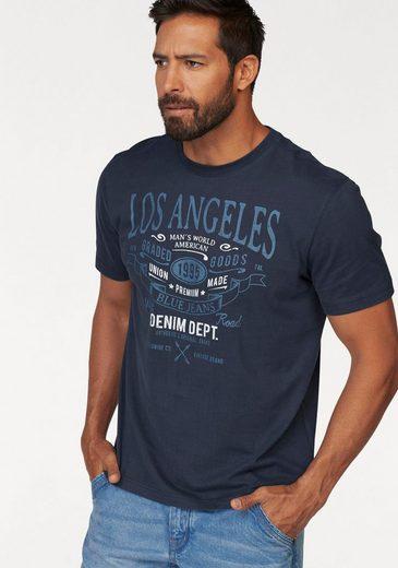 T shirt World Mit Großem Man's Print RwS06cq