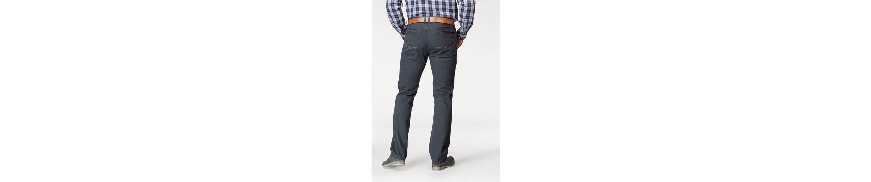 Man's World 5-Pocket-Hose, Edle Bordüre am Innenbund