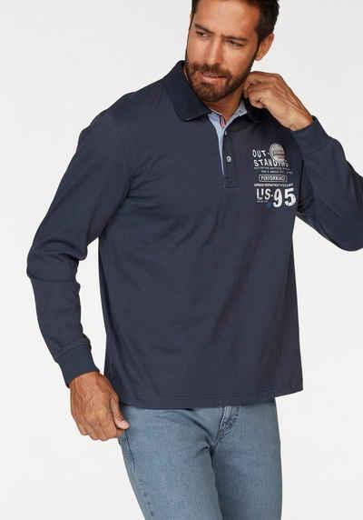 new arrivals eecda 2a950 Langarm-Poloshirt für Herren online kaufen | OTTO