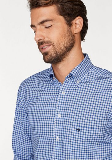 Fynch-hatton Checked Shirt, High Quality Oxford-quality