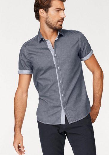 Tom Tailor Kurzarmhemd, mit Kontrastdetails