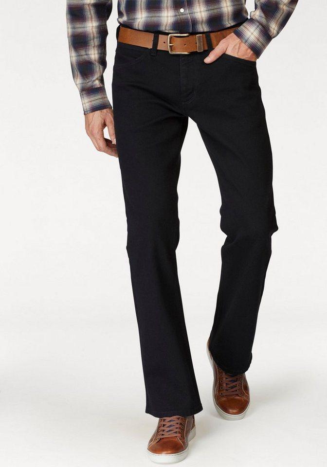 Wrangler Bootcut-Jeans »Jacksville« | Bekleidung > Jeans > Bootcut Jeans | Schwarz | Wrangler