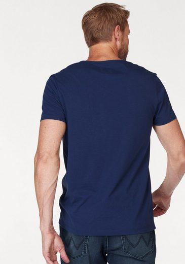Wrangler T-Shirt Circuit Tee, mit Retroprint