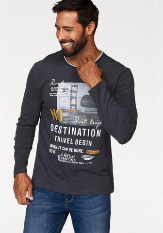 MAN'S WORLD Marškinėliai ilgomis rankovėmis