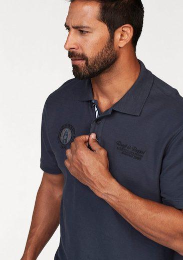 Mans Polo Shirt World, In Piqué-quality