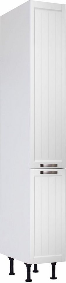 OPTIFIT »Cara« Apothekerschrank | Küche und Esszimmer > Küchenschränke > Apothekerschränke | Weiß | OPTIFIT