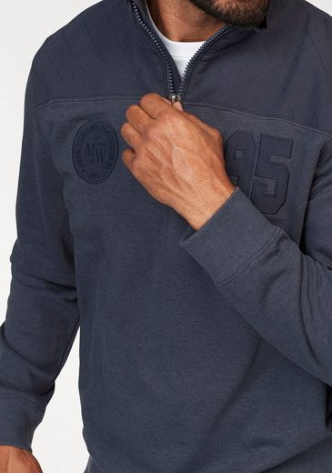 World Sweatshirt Mit Mit Stehkragen Man's Sweatshirt World Man's Eddrxqvwa
