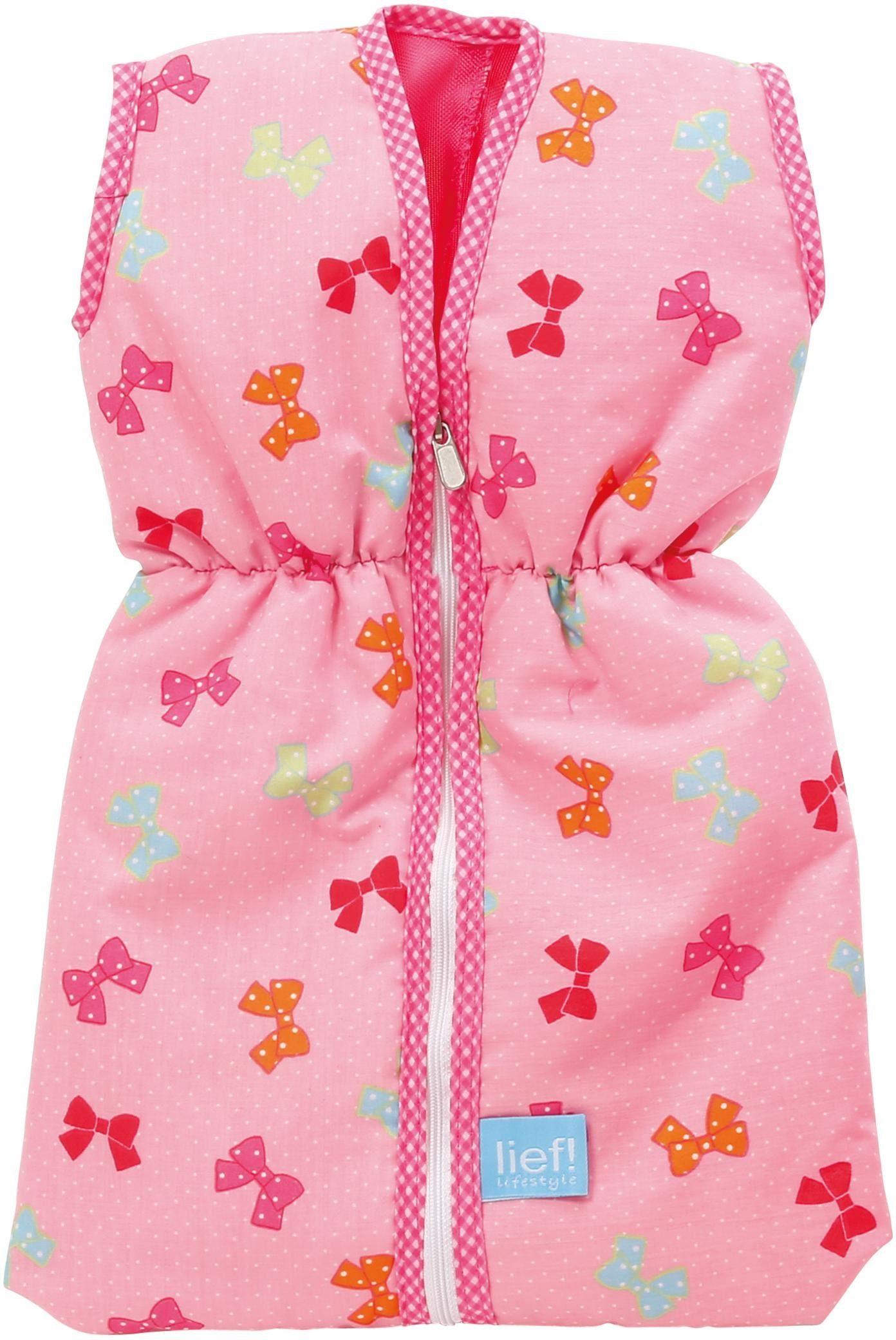 knorr toys Schlafsack für Puppen, »lief! lifestyle Puppenschlafsack«