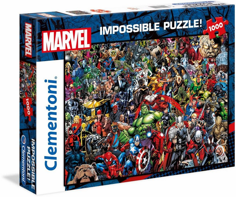 Clementoni Puzzle Marvel Impossible Puzzle 1000 Teilig Online Kaufen Otto