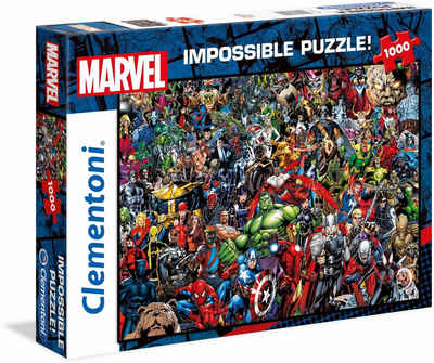 Clementoni® Puzzle »Impossible Collection -Marvel«, 1000 Puzzleteile, Made in Europe, FSC® - schützt Wald - weltweit