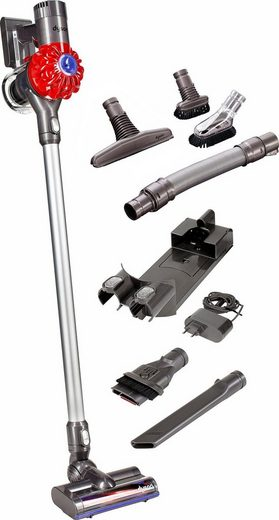 dyson akku stielstaubsauger dc62 350 watt beutellos inkl 4tlg akkusauger set online kaufen. Black Bedroom Furniture Sets. Home Design Ideas