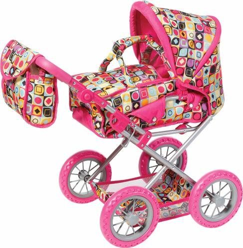 knorr toys Kombipuppenwagen, »Ruby, wild patterns«