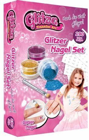 knorr toys Kreativset, »Glitza Tattoo + Nagelset, groß«