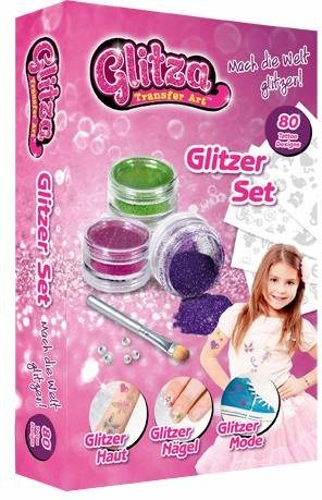 knorrtoys kreativset glitza tattoo nagel set set. Black Bedroom Furniture Sets. Home Design Ideas