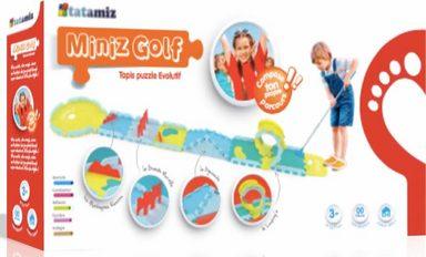 tatamitz Puzzle »Mini Golf«, 32 Teilig