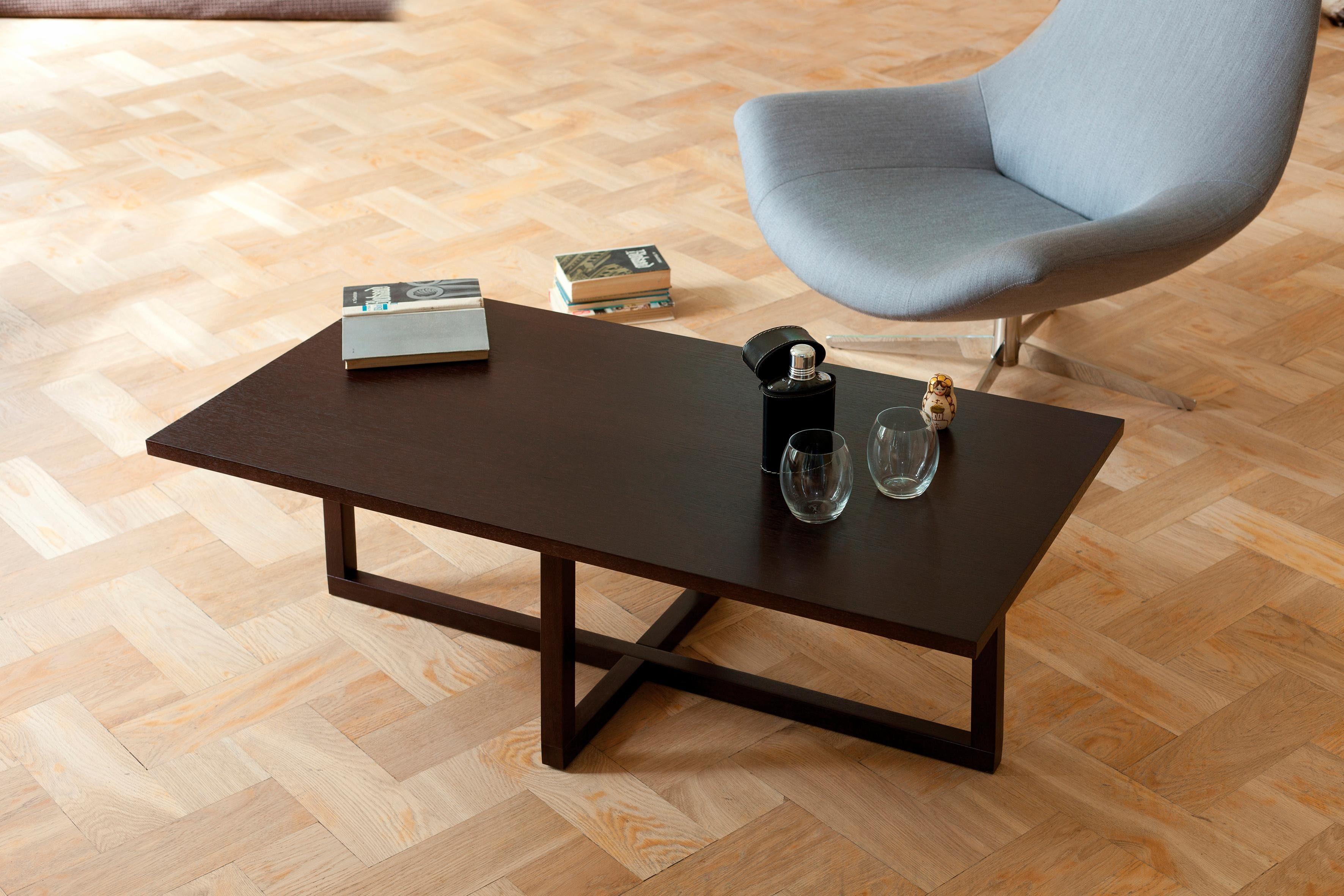 Woodman Couchtisch mit einer rechteckigen Tischplatte »Milo«, Breite 115 cm