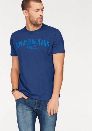 Replay T-shirt, Mit Markenprint