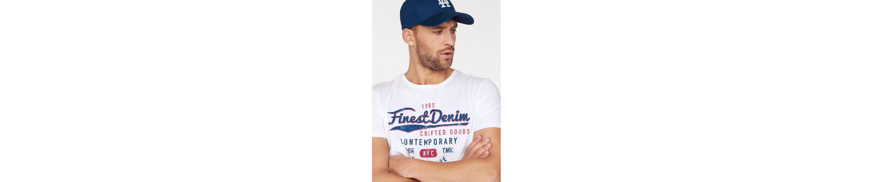 John Devin T-Shirt, mit Schriftzug Print