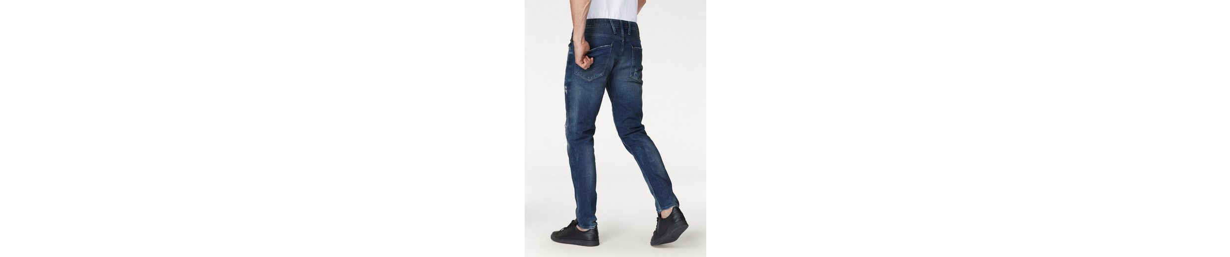 Replay Slim-fit-Jeans Anbass, Destroyed Effekte