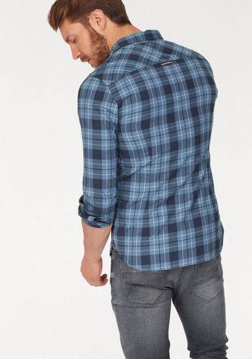 13 Jeans Sln Tommy Check Karohemd Shirt Tjm s L Zqx1P8w