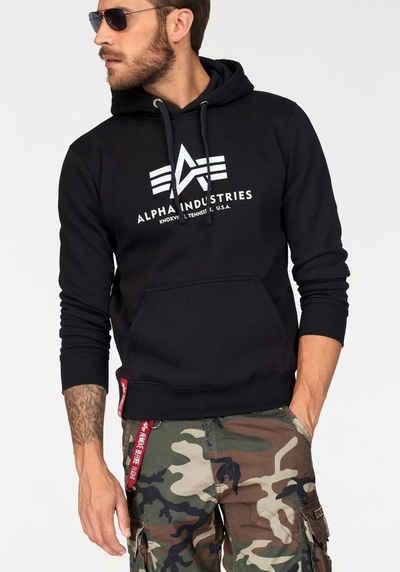 43dcd33e7dd460 Alpha Industries Kapuzensweatshirt »Basic Hoody«