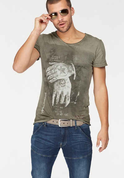 Key Largo T-Shirt »ALIVE« Sale Angebote Schmogrow-Fehrow