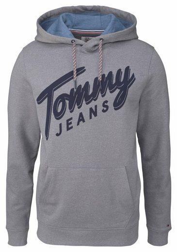 TOMMY JEANS Kapuzensweatshirt TJM BASIC LOGO HD HKNIT L/S 12
