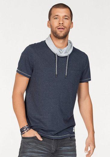 John Devin T-Shirt, mit Schlauchkragen