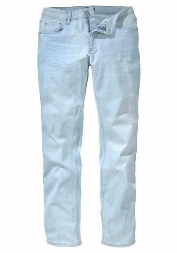 John Devin Straight-Jeans, Elastisch